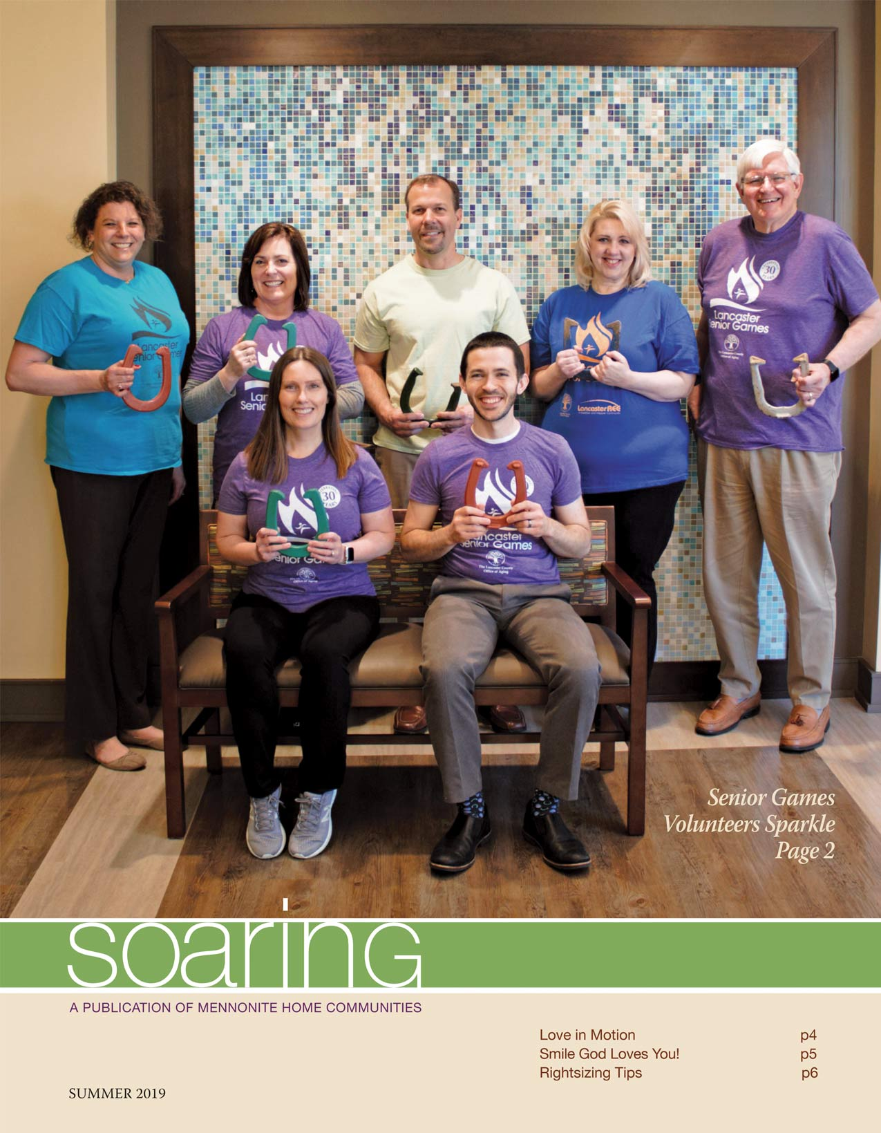 Summer 2019 Soaring cover